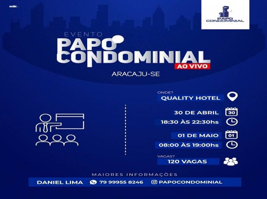Papo Condominial Ao Vivo em Aracaju-SE