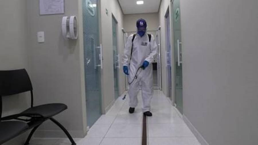 Procura por limpeza especializada em empresas e condomínios aumenta 300% com a pandemia do coronavírus